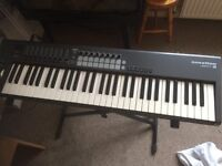 Novation Launchkey 61 midi keyboard. Cash & collection only