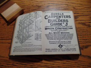 Audels Carpenters and Builders Guide #3