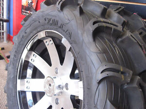Maxxis Zilla ATV Tire and Rim Combo