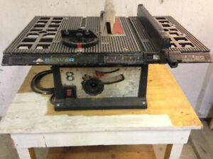8 inch Table Saw-Tools and Accessories