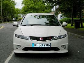Honda Civic 2.0 i 2010MY VTEC Championship White Type R WTH FSH+SPECIAL EDITION+