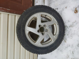 Snow tires and rims 216/60R16 Wintermark Magna Grip