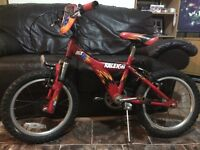 Raleigh MX16 boys bike