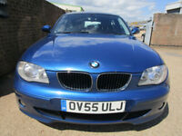 2005 55 BMW 120d Sport 2.0 TURBO DIESEL 163 BHP 6 SPEED FSH 61 MPG ECO CHEAP TAX