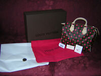 Authentic Louis Vuitton Cerises Speedy 25 - Limited Ed from 2005