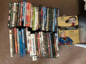 Over 30 DVDs