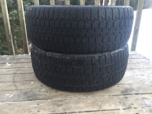 Two 205/55R16 Winter Tires Excellent Tread