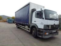 Mercedes-Benz Atego 18 ton 1823 sleeper cab