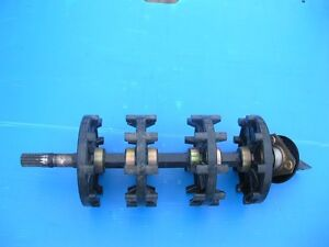 2001 skidoo zx800 drive shaft and brake assembly Strathcona County Edmonton Area image 1