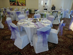 Chair Covers, Linens, & Decor for Weddings/Events Cambridge Kitchener Area image 9