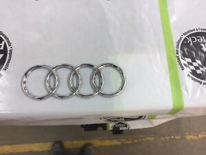 Audi rings badge