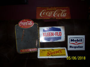 4 old signs