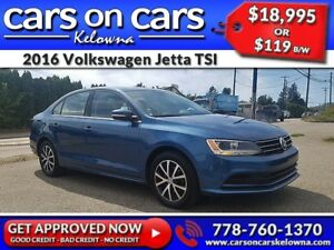 2016 Volkswagen Jetta TSI w/Sunroof, BackUp Cam, BlueTooth $119B