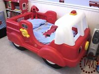 Step 2 Little Tikes fire engine toddler first bed