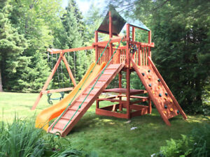 A Real Playset in Your Own Backyard! Swingset / Module Jeux
