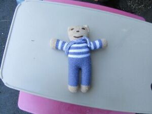 TEDDY BEAR - HAND MADE - COLLECTIBLE - REDUCED!!!!