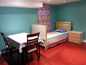 Basement large furnished room rent $550.00/month MALE ONLY.