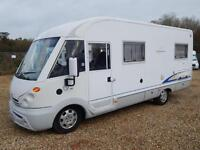 Burstner ELEGANCE i660, 2004, 'A' CLASS, 4 Berth, Fiat 2.8D, Fixed Bed, VGC!