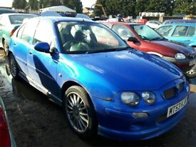 2004 MG ZR 105 NOW BREAKING FOR PARTS