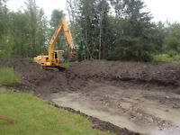 Landscaping-Excavating-Sand & Gravel-Septics