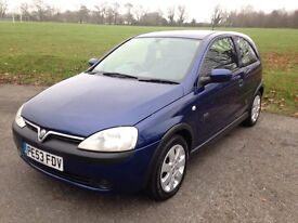 VAUXHALL CORSA 1.2 SXi in Metallic Blue with only 67000 miles & Full Service History.