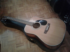 1980's Sigma DM-3 Acoustic by Martin  with Case