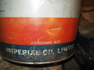 Esso Marvelube Grease Pail Regina Regina Area image 4