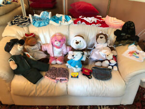 Build-a-Bear collection.  In good time for Christmas!