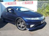2007 07 HONDA CIVIC 1.8i-VTEC TYPE S GT 3 DOOR.SUPERB LOOKING CAR.FULL SH.2 KEYS