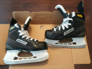 Used Bauer Supreme Pro Youth Skates- sz 13 youth