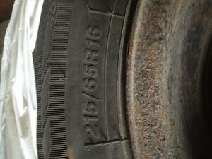 Sailun Ice Blazer 215/65R16 winter tires on rims for sale Peterborough Peterborough Area image 1