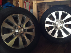 Toyota Tundra Limited Rims with Brand New Firestone Tires