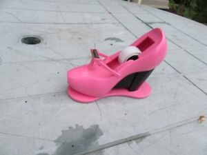 TAPE DISPENSER - PINK SHOE - REDUCED!!!!