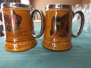 Lord Nelson Pottery Beer Mugs