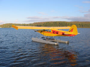 1985 WagAero Super-Cuby Airplane on Floats and Wheels
