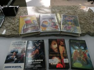 VHS collection de films Saguenay Saguenay-Lac-Saint-Jean image 1