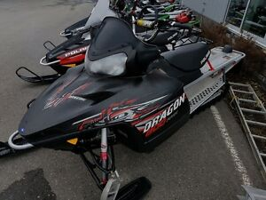 2010 Polaris RMK 800 Dragon (155-Inch) Prince George British Columbia image 1