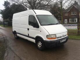 Renault Master Mwb Van / Spares or Repair.