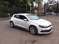 2010 VOLKSWAGEN SCIROCCO 1.4 TSI 3DR 160 BHP WHITE LOW MILEAGE FSH PX WELCOME