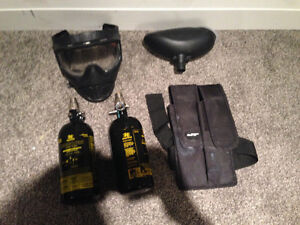 Miscellaneous paintball items