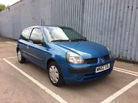 2002 52 Renault Clio 1.2 16v Automatic Auto - 12 Months MOT - 2 Lady Owners - Full History
