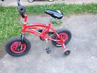 Child's Cars Bike