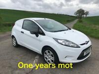 2011 Ford Fiesta Van TDCi, ONE YEARS MOT 2019
