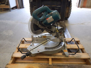 "Makita 10 "" chop saw"