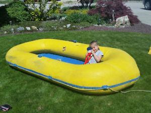 Rubber raft