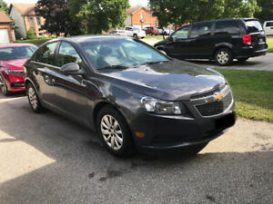 2011 Chevy Cruze - $8500 OBO - 99500 kms Certified