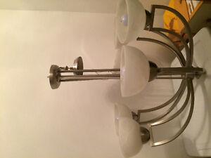 Lampadaire de plafond 6 ampoules