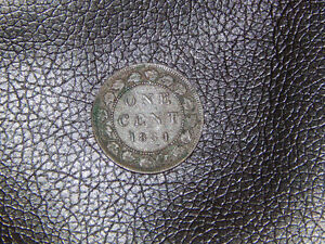 one cent 1884 Canada