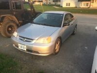 2001 Honda Civic Coupe