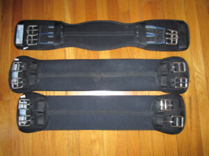 Stubben Neoprene Dressage Girths 22 inch (All 3 for the Price)